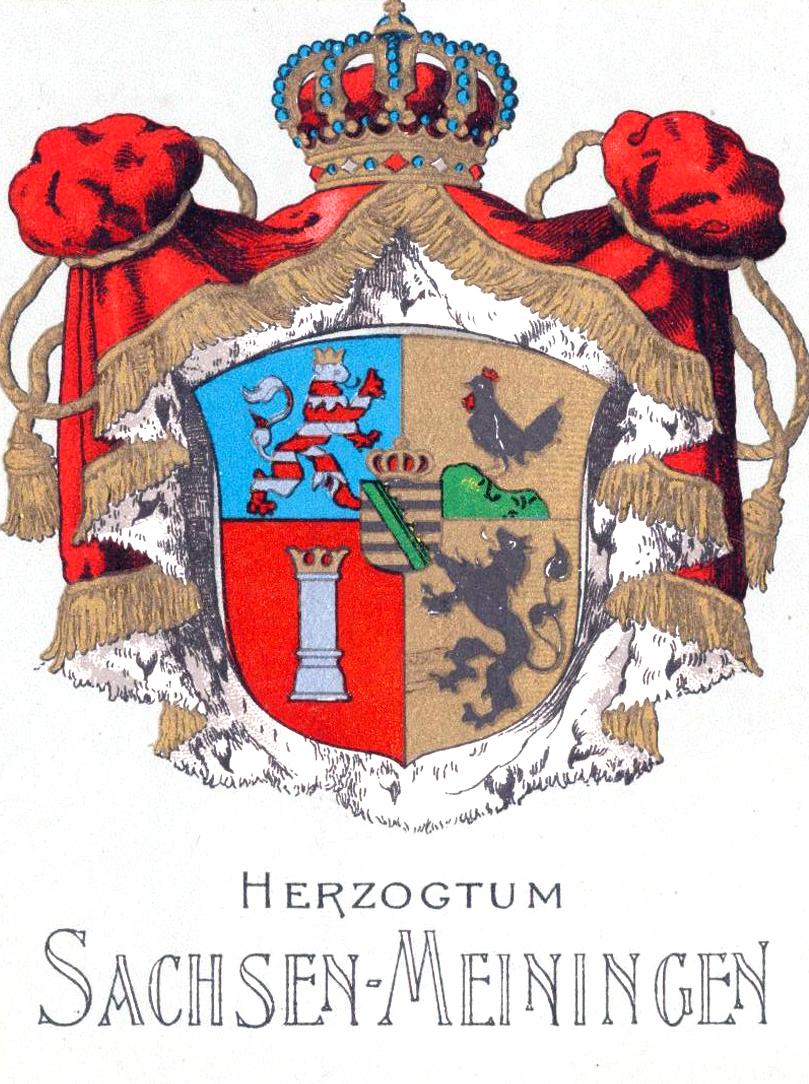 Sachsen-Meiningen - Gold