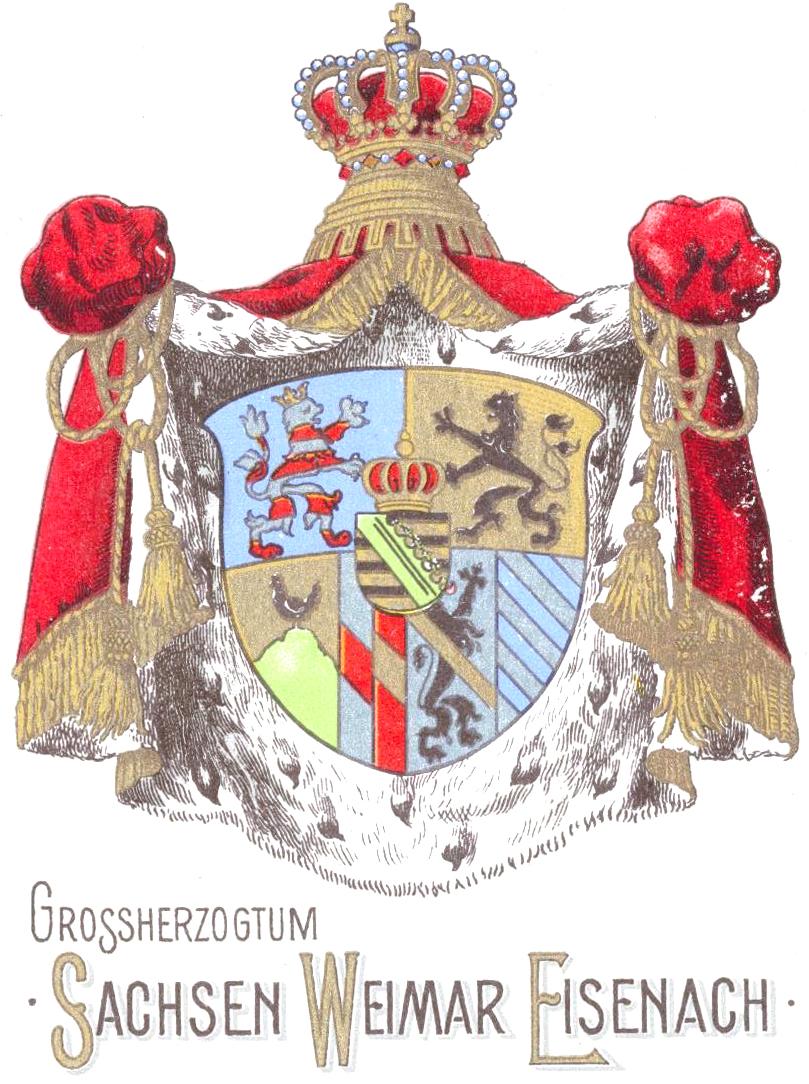 Sachsen-Weimar-Eisenach - Gold