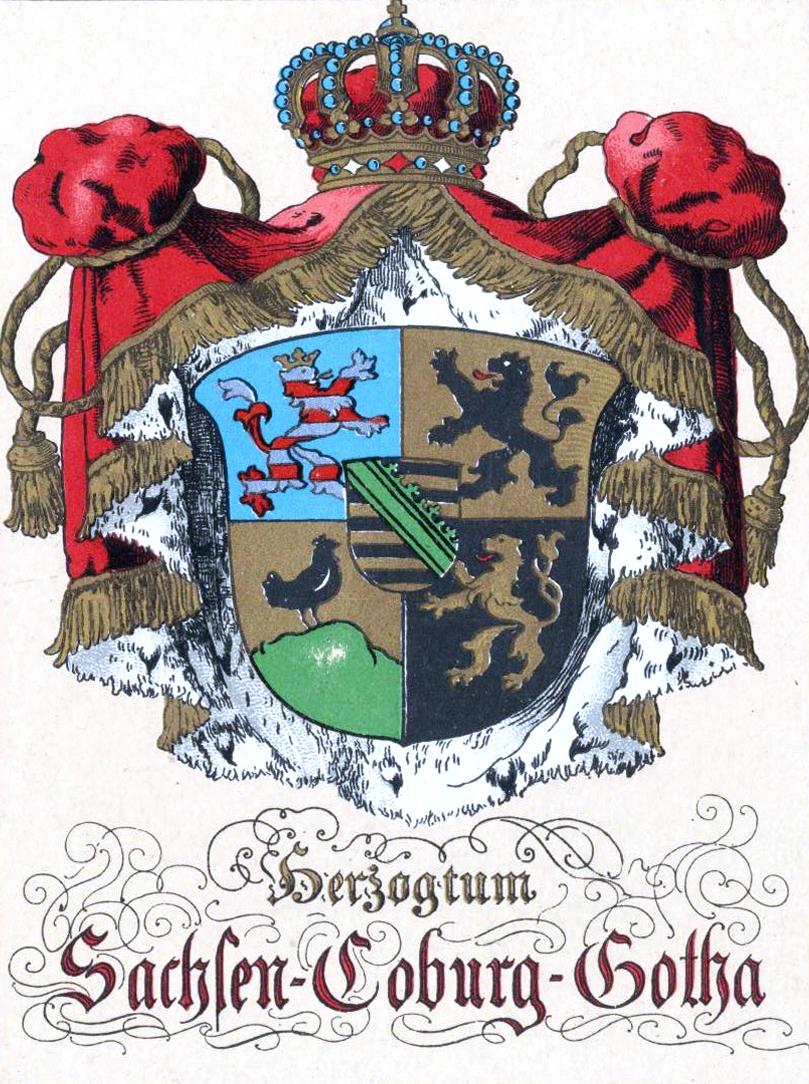 Sachsen-Coburg-Gotha - Silber