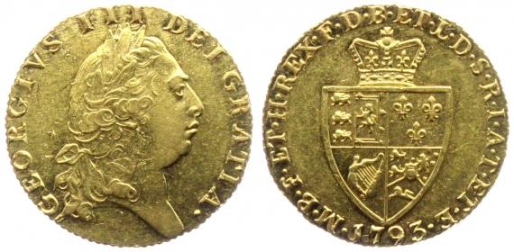 Großbritannien - 1793 - George III. (1760 - 1820) - Guinea - f.vz