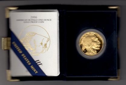 USA - 2007 W - Amarican Buffalo - 50 Dollars - 1 Unze - PP