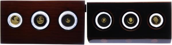Großbritannien - 2015 - Britannia - 3er-Goldsatz-Set - 11,50 Pound - PP