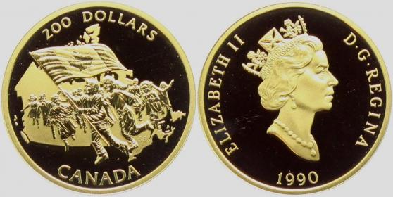Kanada - 1990 - Nationalflagge - 200 Dollars - PP
