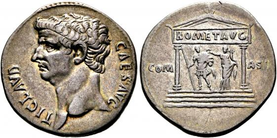 Römische Kaiserzeit - Cristopherus - Clausius (41 -54) - vz - in Slab CH VF