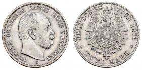 Preussen - J 96 - 1876 C - Wilhelm I. (1861 - 1888) - 2 Mark - vz