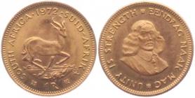 Südafrika - 1972 - Springbock - Jan von Riebeek - 1 Rand - pfr.