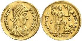 Römische Kaiserzeit - Flavius Arcadius (383 - 408) - Solidus - ss-vz