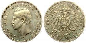 Hessen - J 73 - 1899 A - Ernst Ludwig (1892 - 1918) - 5 Mark - ss+