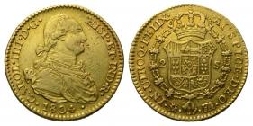 Spanien - 1804 FA über MF - Karl IV. (1788 - 1808) - 2 Escudos - ss+