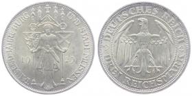 Weimarer Republik - J 338 - 1929 E - Meißen - 3 Reichsmark - st
