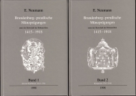 E. Neumann - Brandenburg-Preußische Münzprägungen von 1415-1918 ( 2 Bände)