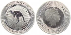 Australien - 2018 - Känguru - 1 Unze - 1 Dollar - st /BU in Kapsel