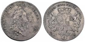 Brandenburg-Ansbach - 1768 S - Karl Alexander (1757 - 1791) - Taler - ss