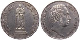 Bayern - 1848 - Maximilian II. (1848 - 1864) - Doppeltaler - ss-vz min. Kr.