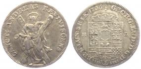 Braunschweig-Calenberg-Hannover - 1706 HB - Georg Ludwig (1698 - 1714) - 1/3 Taler - vz