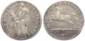 Braunschweig-Calenberg-Hannover - 1699 HB - Georg Ludwig (1698 - 1714) - 1/3 Taler - vz