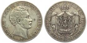 Braunschweig- Lüneburg - 1866 B - Wilhelm (1831 - 1884) - Vereinstaler - f.vz