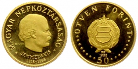 Ungarn - 1968 - Ignaz Semmelweis - 50 Forint - PP