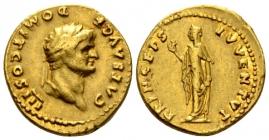 Römische Kaiserzeit - ca. 75 - Domitian Caesar (69 - 81) - Aureus - ss