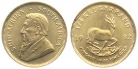 Südafrika - 1982 - 1/4 Krügerrand - Spingbock - st