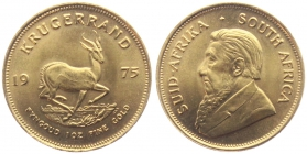 Südafrika - 1975 - 1 Krügerrand - Spingbock - st