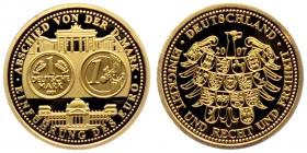 Deutschland - 2007 - Medaille - Goldsonderprägung - 5 Jahre Euro