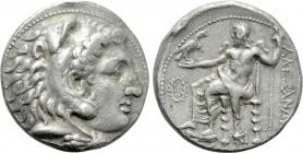 Griechenland - Macedonien - Alexander III. - Alexander der Große (332-323 v. Chr.) - Tetradrachme - ss+