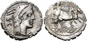 L. Procilius - Denar - f.vz