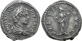 Römische Kaiserreich - Caracalla (197 - 217) - Denar - vz