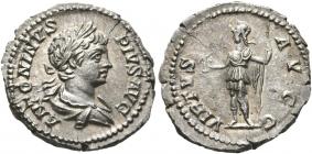 Römische Kaiserreich - 201-206 - Caracalla (197 - 217) - Denarius - vz