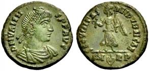 Römische Kaiserzeit - 367-375 - Valens (364 - 378) - Kleinbronce - vz