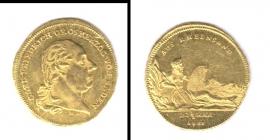 Baden-Durlach - 1807 B - Rheingolddukat vz