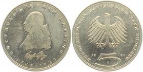 BRD - J 429 - 1981 - Gotthold Ephraim Lessing - 5 Mark - bankfrisch