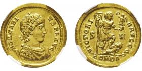 Römische Kaiserzeit - Solidus - Arcadius (383 - 408) - AU (vz)