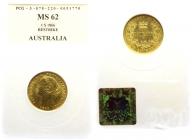 Australien - 1866 - 1 Sovereign - Victoria - MS 62 (vz-st)