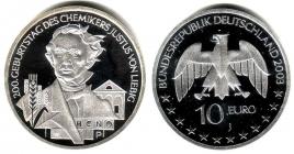 BRD - J 498 - 2003 - 200. Geburtstag von Justus von Liebig - 10 Euro - bankfrisch