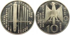 BRD -  J 592 - 2014 - 300 Jahre Fahrenheit Skala - 10 Euro - bankfrisch