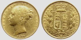 Australien - 1872 M - Queen Victoria (1837 - 1901) - 1 Sovereign ss+
