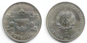 DDR - J 1610 - 1986 - Neus Palais Potsdam - 5 Mark - st