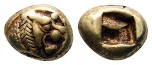 Lydien - 620-539 v. Chr. - König Alyattes bis Kroisos - 1/12 Stater - vz