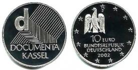BRD - J 492 - 2002 - Dokumenta in Kassel - 10 Euro - bfr