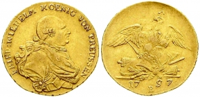 Brandenburg - Preussen - 1797 B - Friedrich Wilhelm II. (1786-1797) - Friedrich D'Or - gutes vz