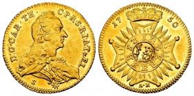 Pfalz und Bayern - 1750 S-A-K - karl Theodor (1742-1799) - Dukat - vz-st