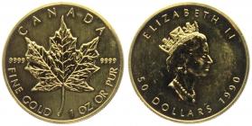 Kanada - 1990 - Maple Leaf - 50 Dollars - st