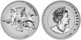 Australien - 2021 - Keilschwanzadler mit Highrelief - 1 Unze - 1 Dollar - PP