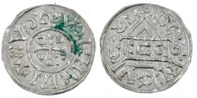 Bayern - Regensburg - 1002-1009 - Heinrich IV (II.) (1002-1009) - Denar - vz-st