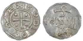 Köln - 983-1002 - Otto III. (983-1002) - Denar - vz-st