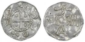 Köln - 983-1002 - Otto III. (983-1002) - Denar - f.st