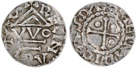 Bayern - Regensburg - 948 - 955 - Herzog Heinrich I. von Bayern (948-955) - Denar - vz
