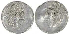 Sachsen - Goslar - 983-1002 - Otto III. (983-1002) Otto-Adelheid-Pfennig - Denar - vz